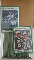 MICHIGAN STATE SPARTANS MULTI SPORT TRADING CARDS COMPLETE SET SKILES MAGIC