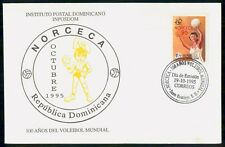 Mayfairstamps Dominican Republic 1995 NORCECA Volleyball Cover wwe1499
