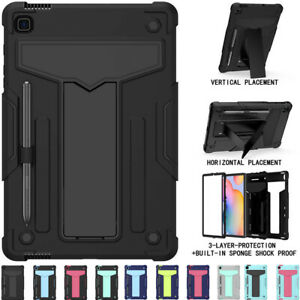 """Heavy Duty Shockproof Stand Case Cover For Samsung Galaxy Tab S6 Lite 10.4"""" P610"""