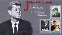 Union Island Gren St Vincent 2017 MNH JFK John F Kennedy 100th 3v M/S II Stamps