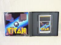 TITAN PC-Engine Hu Grafx Import JAPAN Video Game pe