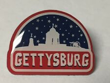 GETTYSBURG MONUMENTS & CANNON LAPEL PIN HAT TAC NEW