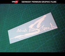 NEED FOR SPEED Racing osaka JDM Drift car Decal vinyl Sticker #002