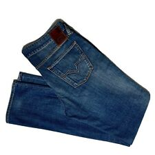 GUESS Blue Jeans - Men's Brit Rocker Slim Tapered Fit Medium Wash Denim 34x34