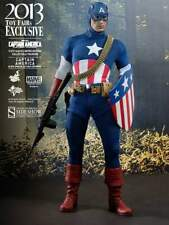CAPTAIN AMERICA~STAR SPANGLED MAN~SIXTH SCALE FIGURE~2013 EXCLUSIVE~HOT TOYS~MIB