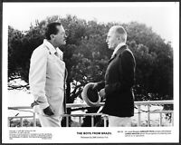 ~ Laurence Olivier Gregory Peck Original 1978 Promo Photo The Boys from Brazil