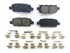 Rear Ceramic Brake Pad For Nissan Altima Infiniti Rogue Sentra Maxima Murano