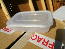 30+ Plastic takeaway containers with lids 500 ml capacity