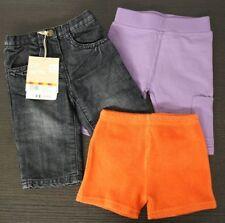 DPAM Set (france) 3 pantalones pantalones de Bebé Talla 6 (68) NUEVO