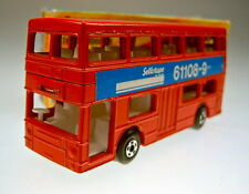 """Matchbox No.17B The Londoner """"Sellotape Packaging Systems"""" rare promo issue"""