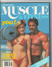 MUSCLE & FITNESS bodybuilding magazine/Premiere Issue/PETE GRYMKOSKI 6-80