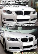 M-Tech Style Front Lip (Urethane) Fits 07-10 BMW E92 E93 2dr