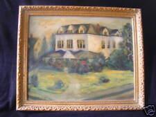 1964 oil painting House asbury park NJ signed& frameSEE