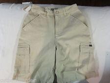 VOLCOM Skate Cargo Dress Shorts Mens Crusoe Khaki size 24 NEW