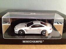 MINICHAMPS MERCEDES BENZ SL65 BLACK SERIES R230 METALLIC SILVER Rare Re-stock!