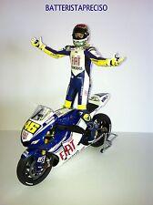MINICHAMPS  VALENTINO ROSSI 1/12 YAMAHA + PILOTA  2008 GP MISANO  MOTO + FIGURE