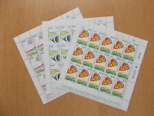 Israel - SG921 / 923 1984 Settlements MNH complete sheets of 15.