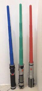 Star Wars -3 vintage LIGHTSABERS