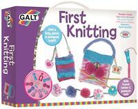 Galt FIRST KNITTING Kids Art Craft Toy BN