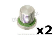 BMW (2003-2016) Drain Plug with Seal Ring for Manual Transmission (2) GENUINE