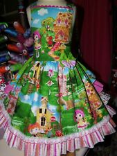 LALALOOPSY DOLL Vintage Fabric Disney  Girls Dress Size  5t (Girl)