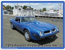 1974 Pontiac Firebird Trans Am Auto Car  Refrigerator / Tool Box  Magnet