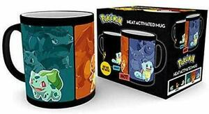 Official Licensed Pokemon evolve Heat Changing Coffee tea Mug MGH0039