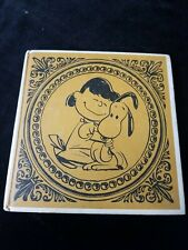 """1st edition 1962 CHARLES SCHULZ """"Happiness is a Warm Puppy"""" illustrated book."""