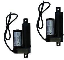 """2pcs Two Pieces 2"""" 2 Inch Linear Actuator Stroke 225 Lb Pound Lift 12V Volt DC"""