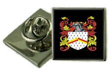 Maling England Familie Wappen Revers Pin Abzeichen Graviert Geschenk Hülle