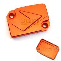 couvercle maitre cylindre frein orange Pour KTM DUKE 125 200 390