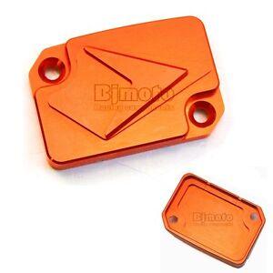 Lid Master Cylinder Brake Orange For KTM Duke 125 200 390