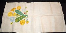 """Heirloom Needlework Guild by Erica Wilson 100% Completed Finished Size 34"""" x 17"""""""