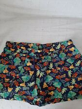 Ladies NEW floral Shorts Size 16/18