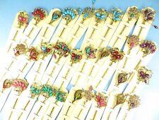 US Seller-wholesale lot 10 pcs victorian rhinestone crystal hairpin hair picks