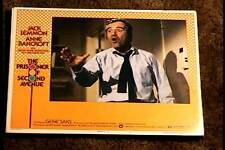 PRISIONER OF SECOND AVENUE 1975 LOBBY CARD #2 JACK LEMMON