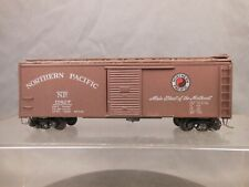 HO SCALE CRAFTSMAN BUILT NORTHERN PACIFIC 15827 40' BOX CAR