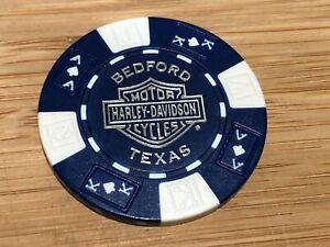 Harley Davidson Poker Chip Bedford Texas
