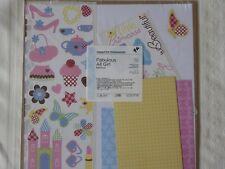 NEW Creative Memories Fabulous All GIRL Additions Scrapbook Paper Mats Stickers