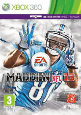 Microsoft Xbox 360 juego *** madden nfl 13 * 2013 *** nuevo * New