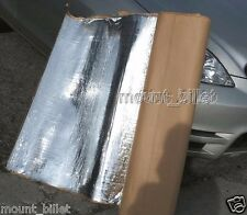 "Automotive sound and heat deadening insulation mat,132""x39"", 36 Square Feet"