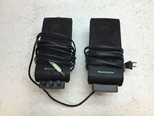 Altec Lansing VS2420 PC Gaming Speakers w/ Adjustable Tone Control -  No Stands