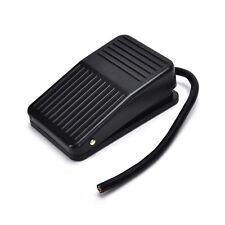 AC 250V 10A SPDT NO NC Antislip Power Foot Pedal Switch Black EC JL