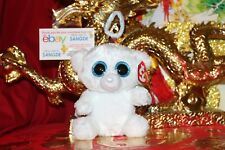 """TY BEANIE BOOS HALO THE ANGEL BEAR.6"""".2014 RELEASE.MWNMT.RETIRED.NICE GIFT"""