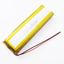 "3.7V 12000mAh Lipo polymer Battery li ion For Power Bank Tablet PC 9"" 11""PAD PDA"