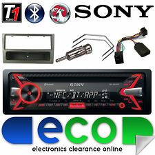 Vauxhall Corsa C Sony Car Stereo Radio CD MP3 USB Bluetooth Steering Control GM