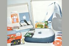 "Apple iBook Clamshell G3 ""BOXED"" S.E DVD 466MHz OS9+OSX Tiger = SUPERB ⭐️⭐️⭐️⭐️⭐"
