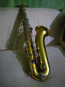 Saxophone Tenor Bundy New pads ready to play no case.