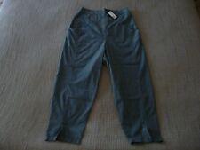 "LAST CHANCE!! NWT OSKA ""Ervi"" Check Cotton Crop Trousers -size 2 12/14UK RRP£209"