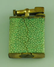 VINTAGE PARKER BEACON SHAGREEN LIFT ARM LIGHTER - DUNHILL PATENT